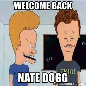 Beavis and butthead - Welcome Back  Nate Dogg