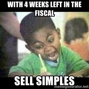 Black kid coloring - with 4 weeks left in the Fiscal Sell Simples