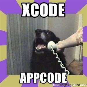 Yes, this is dog! - xcode appcode