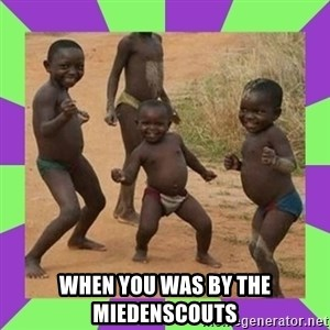 african kids dancing - when you was by the miedenscouts