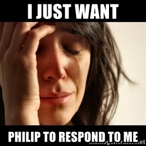 crying girl sad - I JUST WANT PHILIP TO RESPOND TO ME