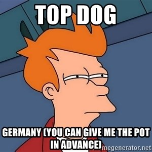 Futurama Fry - TOP dog Germany (you can give me the pot in advance)