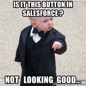 Mafia Baby - Is it this button in Salesforce ?   Not   looking  good...