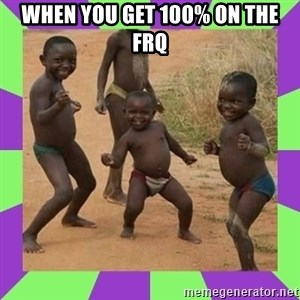 african kids dancing - when you get 100% on the frq