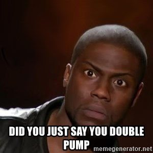 kevin hart nigga - Did You Just Say You Double Pump