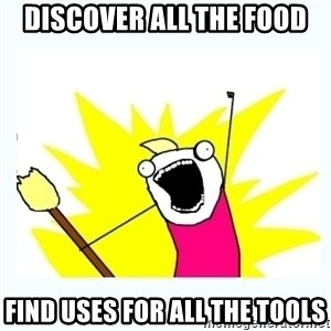All the things - DISCOVER ALL THE FOOD FIND USES FOR ALL THE TOOLS