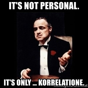 The Godfather - It's not personal. It's only … korrelatione.