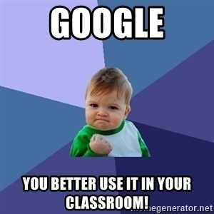 Success Kid - Google  You better use it in your classroom!