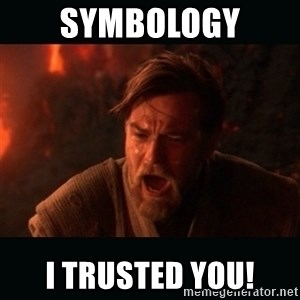 "Obi Wan Kenobi ""You were my brother!"" - Symbology I trusted you!"