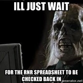 OP will surely deliver skeleton - ill just wait for the rnr spreadsheet to be checked back in