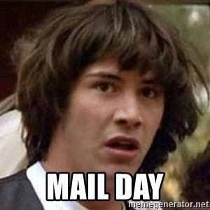 Conspiracy Keanu - MAIL DAY