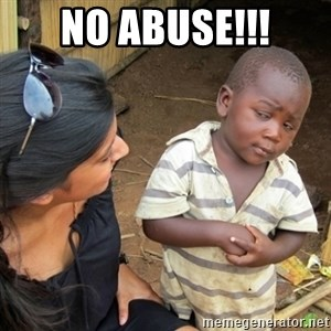 Skeptical 3rd World Kid - no abuse!!!
