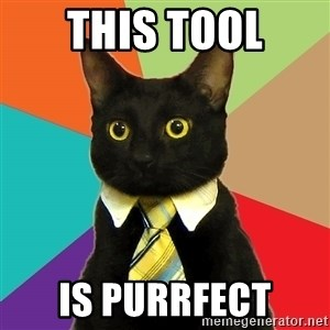 Business Cat - This Tool Is Purrfect