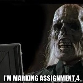 OP will surely deliver skeleton - I'm marking assignment 4