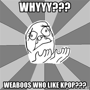 Whyyy??? - Whyyy??? Weaboos who like Kpop???