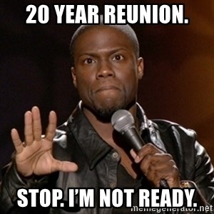 Kevin Hart - 20 year reunion.  Stop. I'm not ready.
