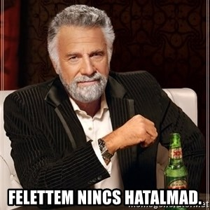 The Most Interesting Man In The World - Felettem nincs hatalmad.