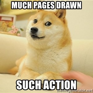 so doge - much pages drawn such action