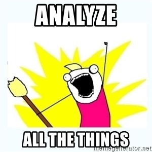 All the things - Analyze all the things