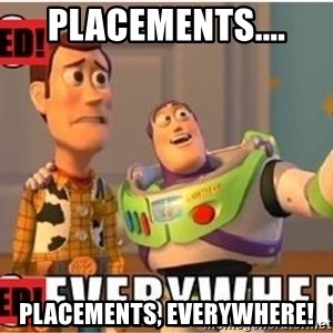Toy Story Everywhere - Placements.... Placements, everywhere!