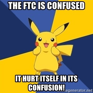 Pokemon Logic  - The FTC is confused it hurt itself in its confusion!