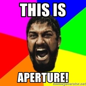 sparta - THIS IS APERTURE!