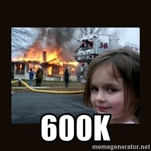 burning house girl - 600K