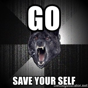 Insanity Wolf - go save your self