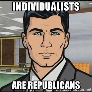 Archer - individualists  are republicans
