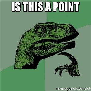 Philosoraptor - Is this a point