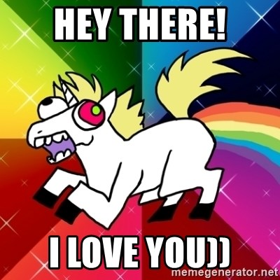 Lovely Derpy RP Unicorn - HEY THERE! I LOVE YOU))