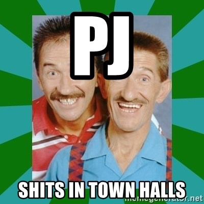 chuckle brothers - PJ SHITS IN TOWN HALLS