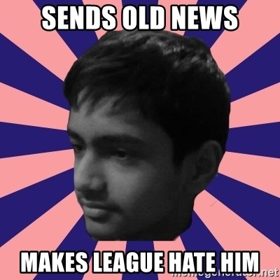 Los Moustachos - I would love to become X - Sends old news Makes league hate him
