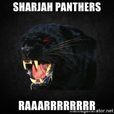 Roleplay Panther - SHARJAH PANTHERS  RAAARRRRRRRR
