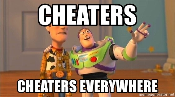 Consequences Toy Story - cheaters cheaters everywhere