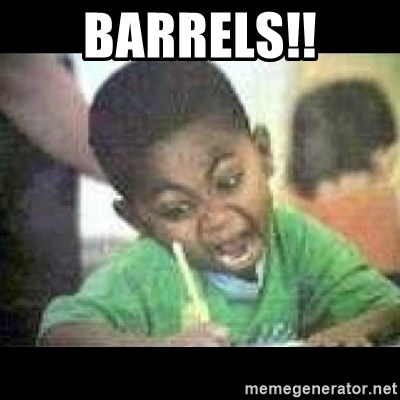 Black kid coloring - BARRELS!!