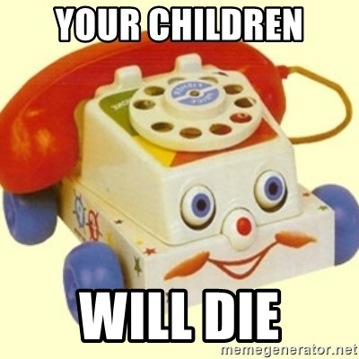 Sinister Phone - Your Children will die
