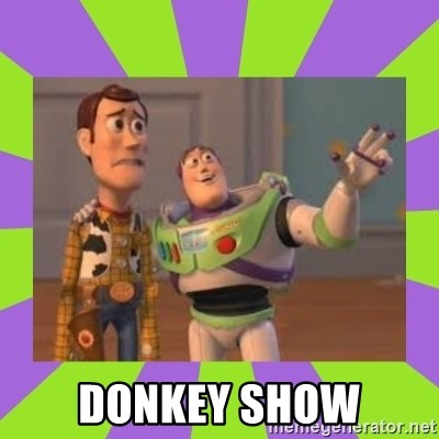 X, X Everywhere  - dONKEY sHOW