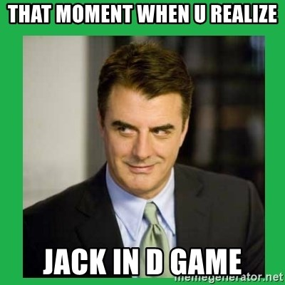 Mr.Big - that moment when u realize jack in d game