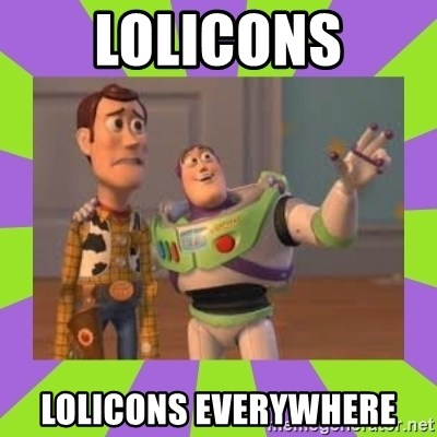 X, X Everywhere  - Lolicons lolicons everywhere