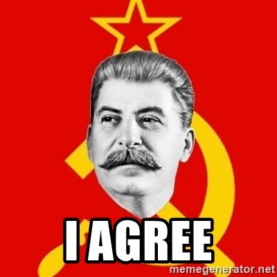 Stalin Says - i agree