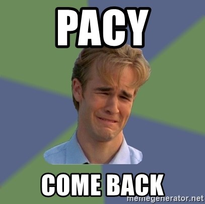 Sad Face Guy - pacy come back