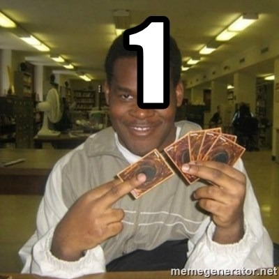 You just activated my trap card -  1