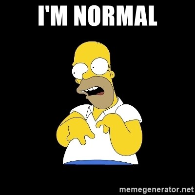 look-marge - I'M NORMAL