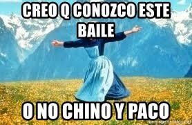 Look at all these - creo q conozco este baile  o no chino y paco