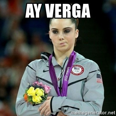 McKayla Maroney Not Impressed - AY VERGA