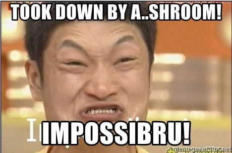 Impossibru Guy - TOOK DOWN BY A..SHROOM! IMPOSSIBRU!