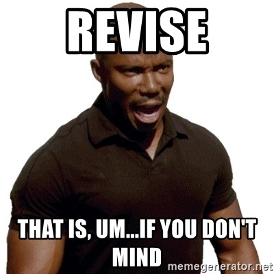 Doakes SURPRISE - revise That is, um...if you don't mind