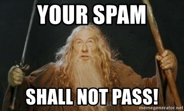 Gandalf - Your Spam Shall not pass!