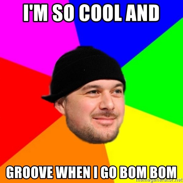 King Kool Savas - I'M SO COOL AND  GROOVE WHEN I GO BOM BOM